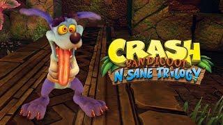 CRASH BANDICOOT no PS4 #2 - Eu Passei Vergonha, Foi Triste!!! (Gameplay no PS4 Pro)
