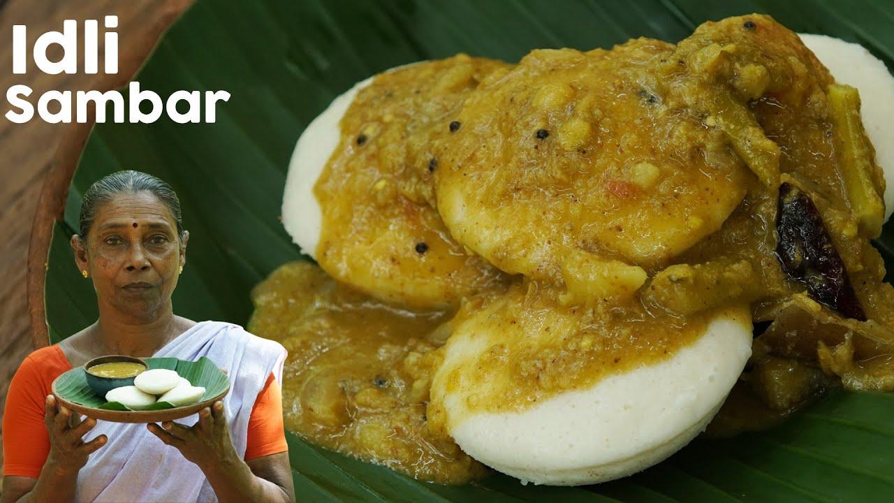 South Indian Breakfast Recipe – Soft Idli and Sambar