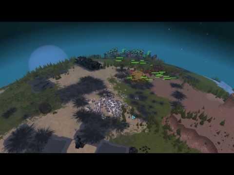 Planetary Annihilation - 3v3v3 Multiplayer Match [Gameplay/1080p/Alpha]