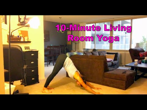 10 minute living room yoga yfutbol youtube for Living room yoga sessions