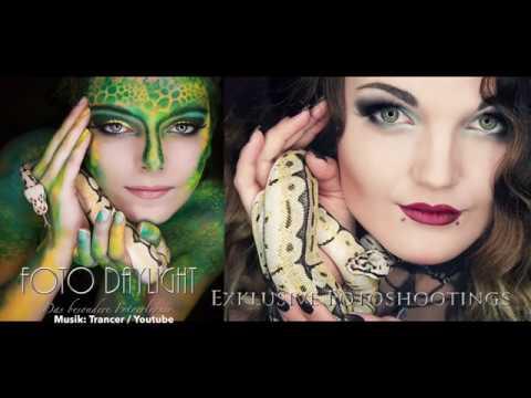Making Of Extrem Make Up Exoten Fotoshooting Youtube