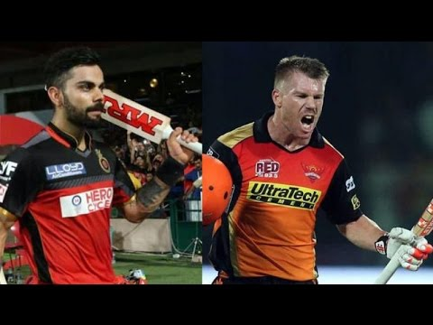 Live IPLT20 : Royal Challengers Bangalore vs Sunrisers Hyderabad Match Preview on Cric Gully