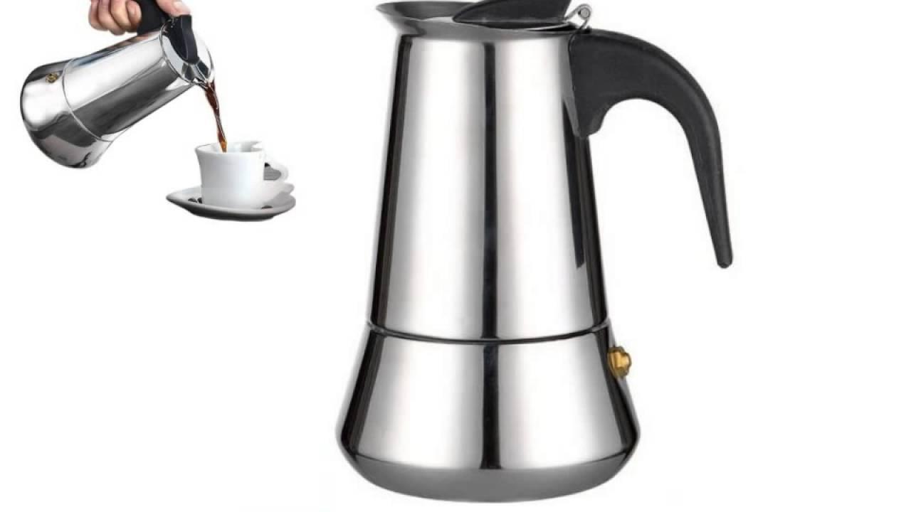 9 Cup Moka Stovetop Espresso Maker Percolator Coffee Pot