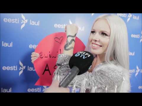 Kerli - Wiwibloggs Interview on Spirit Animal and New Tattoo (Eesti Laul 2017)