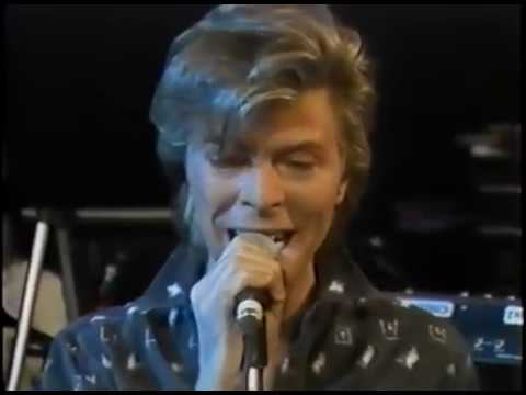 BOWIE ~ SHINING STAR ~ LIVE REHEARSAL 87