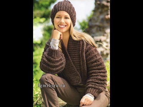 Вязаные КАРДИГАНЫ Спицами - модели - 2017 / Knitted cardigan spokes - model /Strickcardigan Speichen