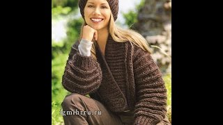 Вязаные КАРДИГАНЫ Спицами - модели - 2019 / Knitted cardigan spokes - model /Strickcardigan Speichen