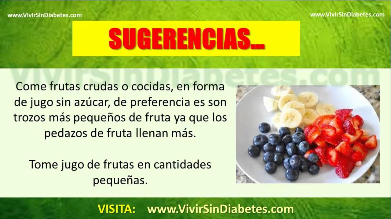 Frutas Recomendadas Para Diabeticos | Que Frutas Puede