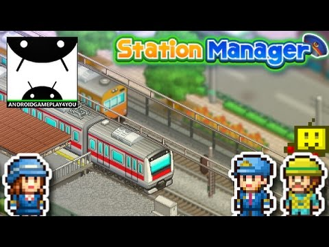 Station Manager Android GamePlay Trailer (By Kairosoft Co.,Ltd)