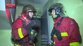Incendie à Aulnay-sous-Bois : un mort et deux pompiers gravement blessés