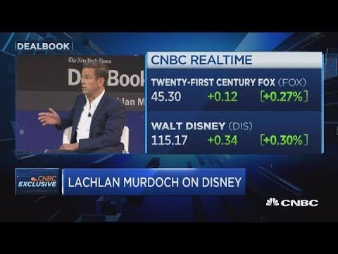 Twenty-First Century Fox's Lachlan Murdoch on Disney and Comcast