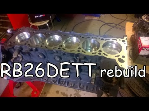 RB26DETT rebuild, reinforcements and improvements. Nissan Skyline GTR