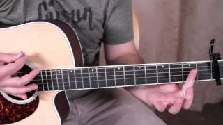 Christina Perri - Jar of Hearts - Acoustic Guitar Lessons - How to Play on Guitar Chords