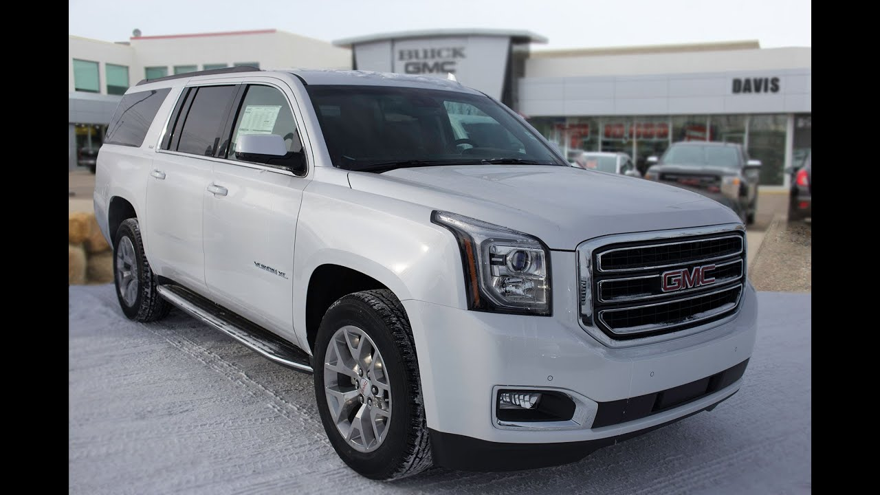 Gmc Yukon For Sale >> Brand new 2016 GMC Yukon XL SLT for sale in Medicine Hat, AB - YouTube