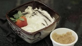 Recipe For Fruit Dip Made With Brown Sugar, Cream Cheese & Whipped Marshmallow : Sweet Dips