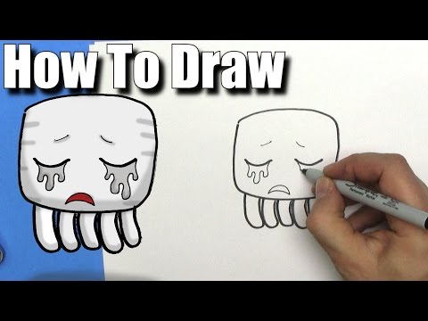 how-to-draw-a-cute-cartoon-minecraft-ghast---easy-chibi---step-by-step---kawaii