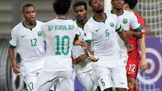 Korea Republic vs Saudi Arabia (AFC U-19 Championship 2016: Group Stage)