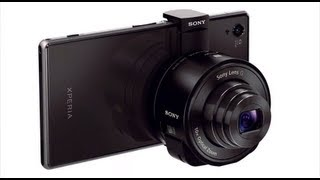 NEW from IFA 2013: Cyber-shot QX10, QX100 Lens-style Cameras for smartphone photographers