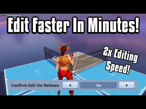 Double Your Editing Speed In JUST 10 Minutes! - Fortnite Battle Royale