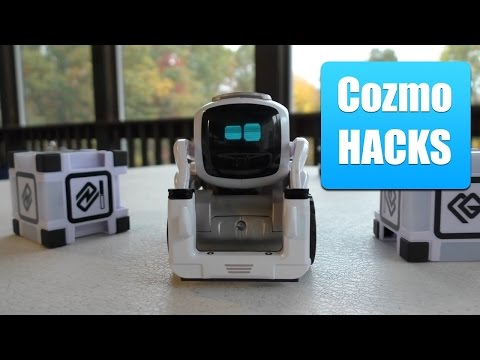 Cozmo Robot HACKS, Programming and Coding via the Cozmo SDK