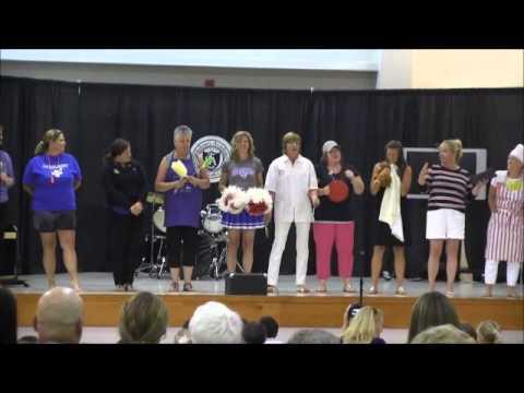 Salisbury Academy Talent Show 2015   Teacher song