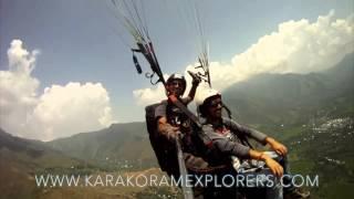 Kashmir Paragliding Aug 2015
