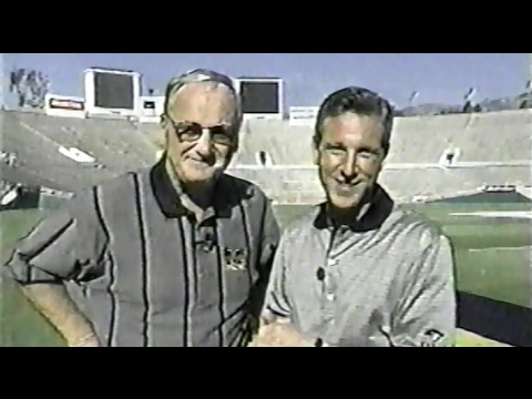Big Ten Ticket 1998 Rose Bowl Pre Show WXYZ Detroit