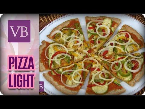 Receita de Pizza Light - Você Bonita (28/04/17)