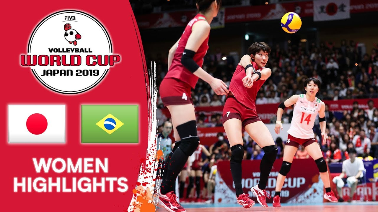 Japan Vs Brazil Highlights Women S Volleyball World Cup 2019 Youtube