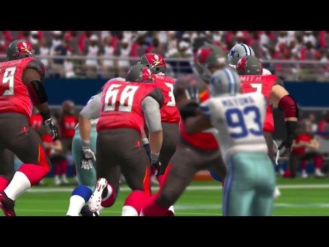 Madden NFL 17 Week 14 Tampa Bay Buccaneers vs Dallas Cowboys