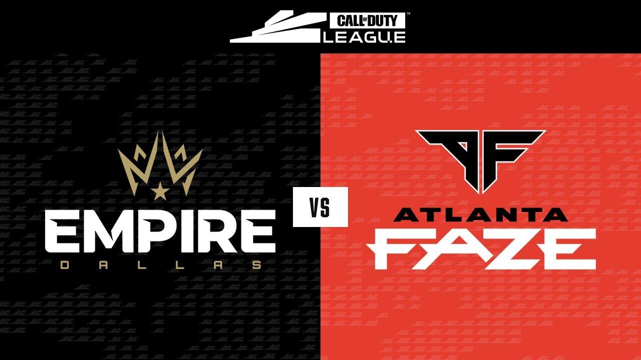 Dallas Empire Vs Atlanta Faze