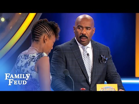 YEP. That would be WEIRD   Family Feud