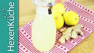 🍋🍋🍋 Zitronen-Ingwer-Sirup 🍋🍋🍋 ein Immunbooster aus Thermomix TM5 Rezept