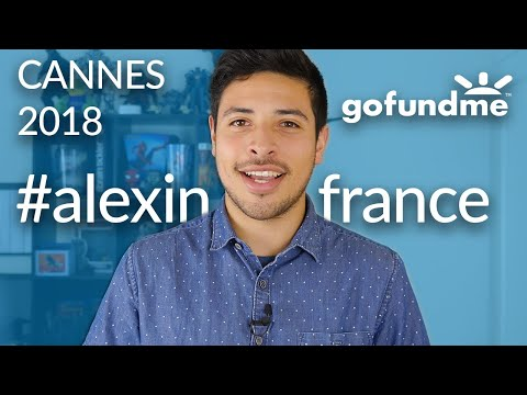 I'm going to Cannes! -Gofundme campaign- #alexinfrance
