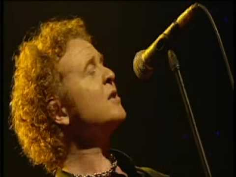 simply red  holding back the years live