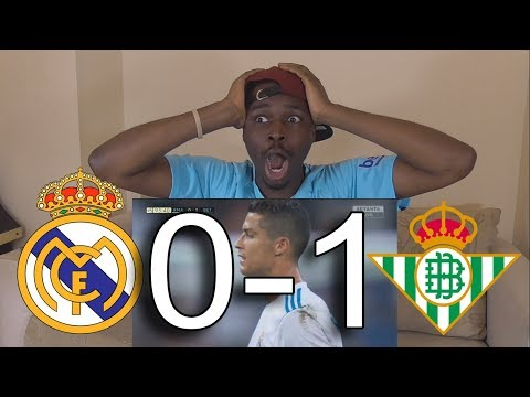 Real Madrid vs Real Betis 0-1 ● All Goals & Highlights: Reaction HD