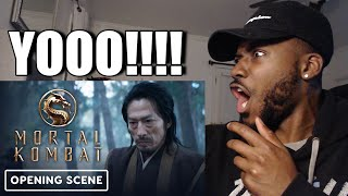 Mortal Kombat Movie  Official Opening Scene 2021  Reaction \u0026 Review
