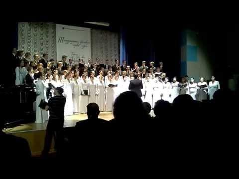 Академический хор ПетрГУ - Летите, голуби ДунаевскийМатусовский