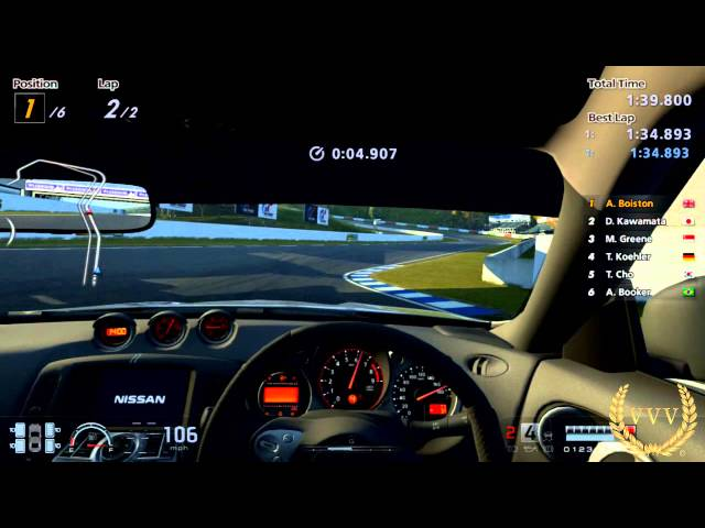 GT Academy 2013 Events 1 - 11 Cockpit Cam