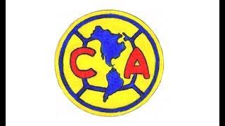 Hur Man Ritar Club América Logo