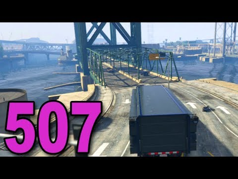 Grand Theft Auto 5 Multiplayer - Part 507 - RACING IN THE MOBILE COMMAND CENTER!