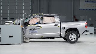 2016 Toyota Tundra Crew Cab Driver-Side Small Overlap Iihs Crash Test