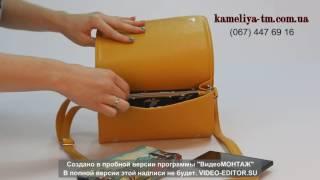 """Видеообзор женского клатча """"Камелия"""" (модель 63)"""