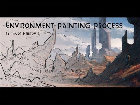 Environment Painting - Speedup video.