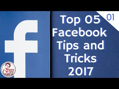 Top 5 Facebook tips and Tricks 2017 || Hindi ||