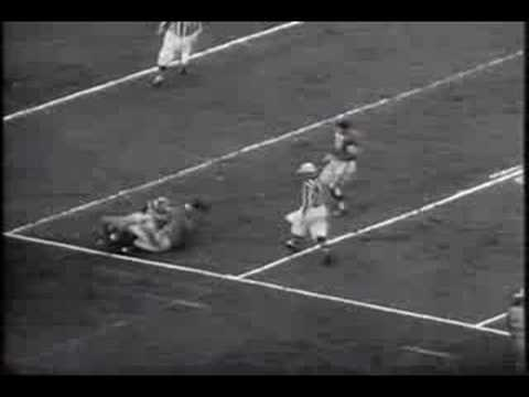 DISPEED LA RAMS beat Baltimore Colts Los Angeles 1955