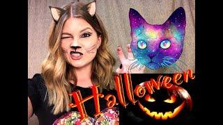 Простой макияж на Хэллоуин 🎃 ЖЕНЩИНА КОШКА // HALLOWEEN MAKEUP