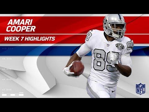 Amari Cooper's Breakout Night w/ 210 Yards & 2 TDs | Chiefs vs. Raiders | Wk 7 Player Highlights
