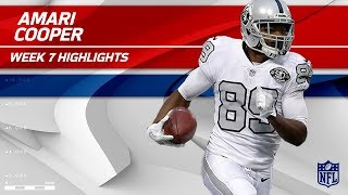 Amari Cooper's Breakout Night w/ 210 Yards & 2 TDs | Chiefs vs. Raiders | Wk 7 Player Highlights