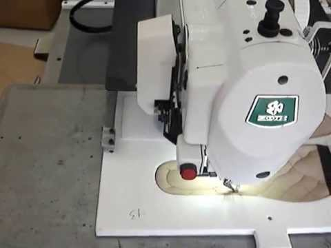 Máquina Filigrana Eletrônica ZOJE 30x20cm para Calçados | ZJ-5770-3020-HF1 - Pattern Sewing